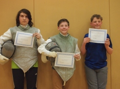 March 2018 beginners invitational medalists 13+ years