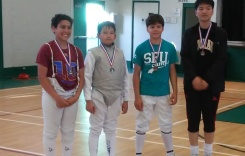 May 2018 Ahmed with his TFA tournament medal