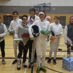 fencing club gift stealing night